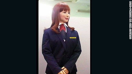 Bleep blorp: New Japanese hotel to be staffed by robots