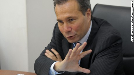 Argentina's Public Prosecutor Alberto Nisman gives a news conference in Buenos Aires on May 20, 2009. The Public Prosecutor's office on Wednesday released the portrait of Colombian national Samuel Salman El Reda, accused of being one of the leaders of local connection that carried out the terrorist attack against Jewish-Argentine organization AMIA on July 18, 1994, killing 85 people and wounding another 300.  AFP PHOTO/JUAN MABROMATA (Photo credit should read JUAN MABROMATA/AFP/Getty Images)