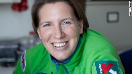 Polar explorer Felicity Aston