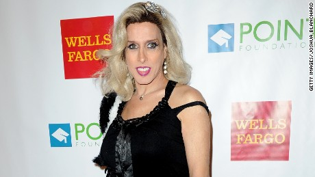 Alexis Arquette appears at an event in 2014.