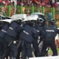 african nations riot police