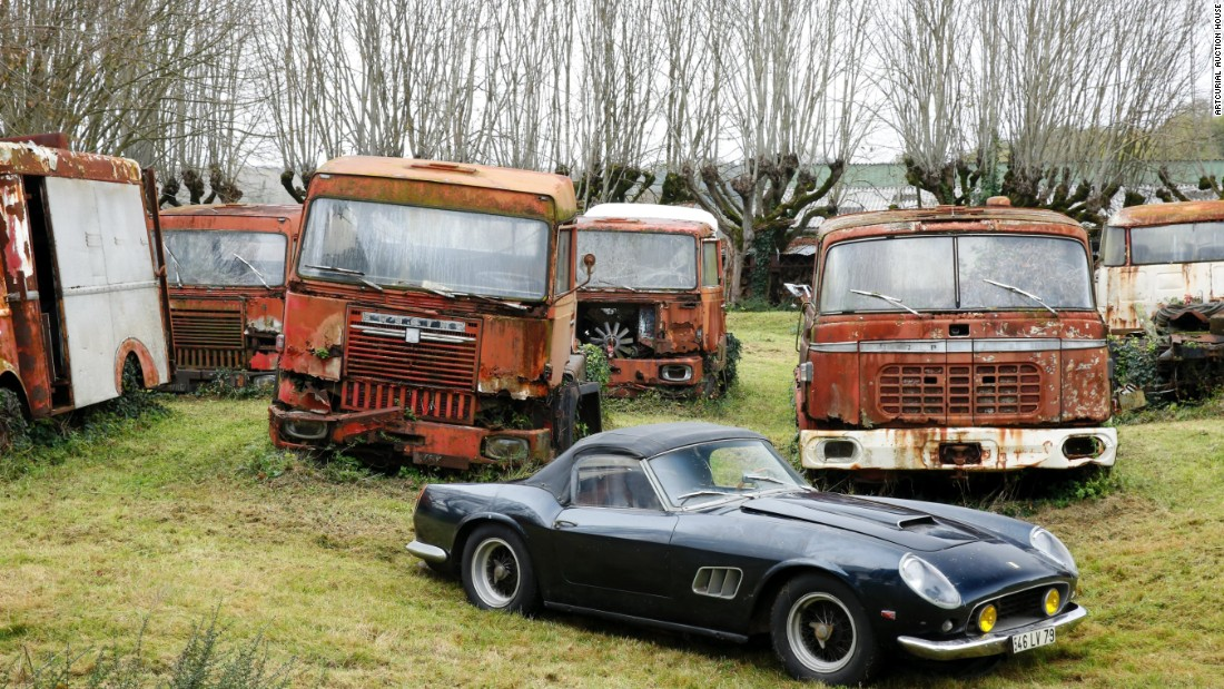 a 1961 ferrari 250 gt swb california spider one of the most valuable cars in - Rusty Old Cars For Sale