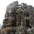 7. Angkor Wat Bayon Temple faces