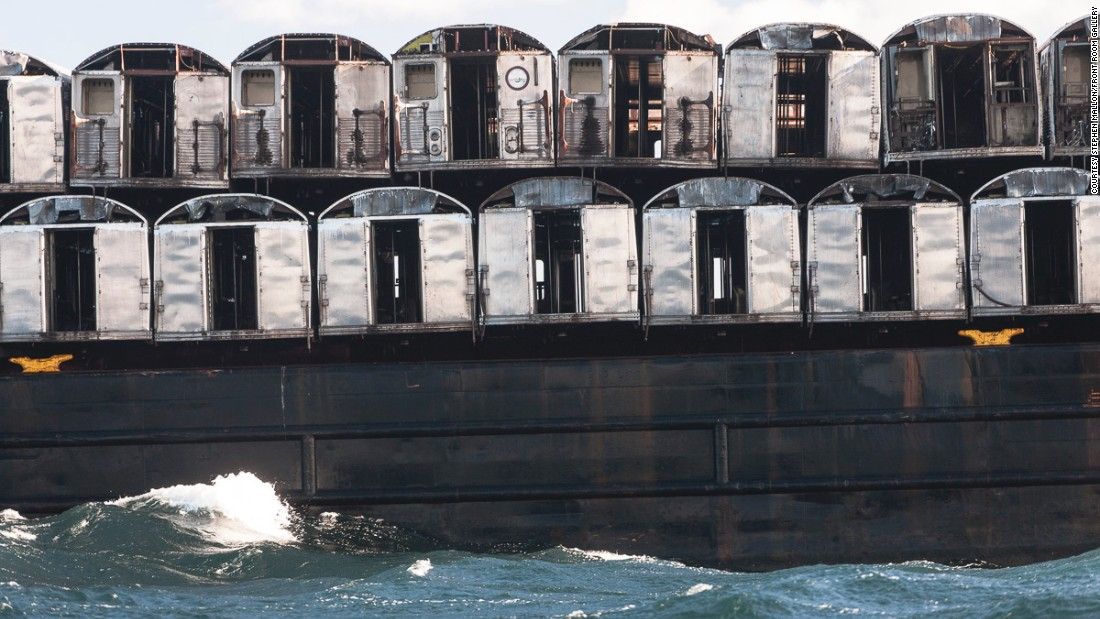 The artificial reef is providing shelter to fish and a home for invertebrates such as blue mussels, along the coast from Delaware to South Carolina.
