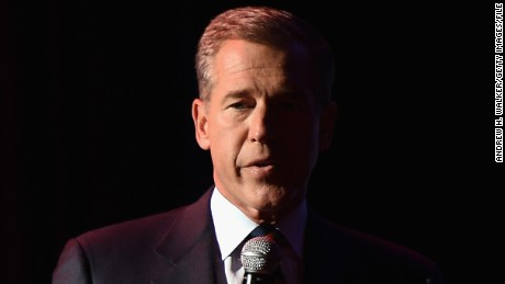 NEW YORK, NY - NOVEMBER 05:  NBC News Anchor Brian Williams speaks onstage at 2014 Stand Up For Heroes at Madison Square Garden at Madison Square Garden on November 5, 2014 in New York City.  (Photo by Andrew H. Walker/Getty Images)