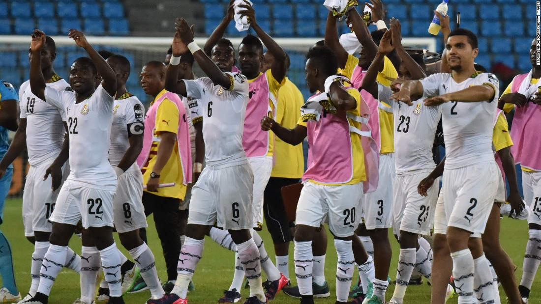 Play eventually resumed and Ghana will now meet Ivory Coast in Sunday's final -- a repeat of the 1992 final which the Elephants won.