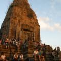 11. Sunset crowds at Angkor