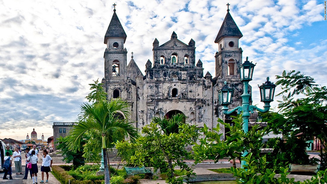 Built in the 17th century, the Church of Guadalupe in Granada, on the northwest tip of Lake Nicaragua, once served as a fortress for Nicaraguan President William Walker.