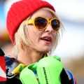 heather mills ski hat