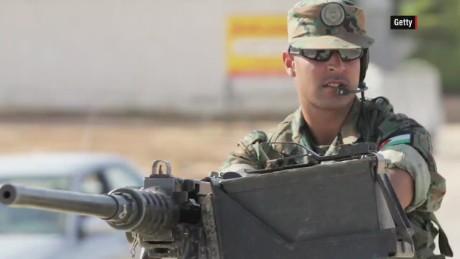 What are Jordan's military capabilities?