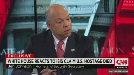 sotu bash jeh johnson homeland security kidnapped hostages ISIS_00002425