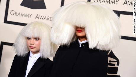 Maddie Ziegler, left, and Sia