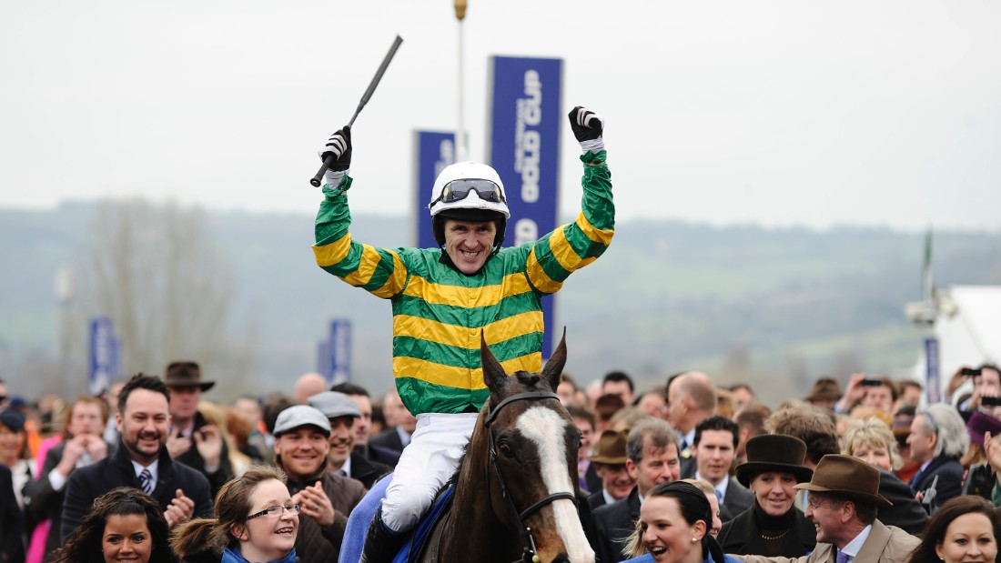 He is also a two-time winner of the Cheltenham Gold Cup, seen by many as the pinnacle of jump racing, his most recent win on Synchronised in 2012.