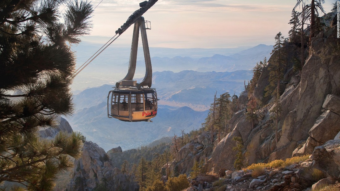Cruising to top of Mt. San Jacinto in Southern California, the Palm Springs Aerial Tramway has been providing high-desert thrills since 1963.