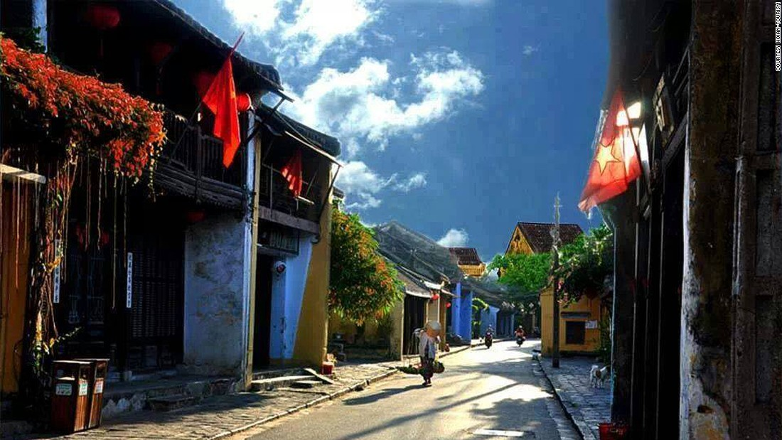 For a romantic culinary trip, the historic town of Hoi An is filled with street food and high end restaurants.
