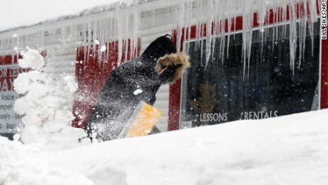 Winter weather slams Northeast