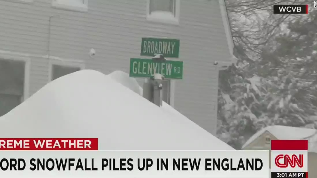 Boston is running out of places to put snow cnn video