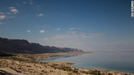 The southwestern coastline of the Dead Sea, Israel