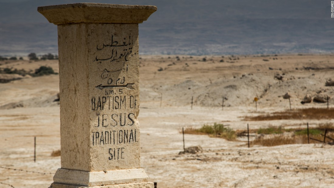 Qasr al-Yahud, along the southern Jordan River near Jericho, West Bank, is believed by many to be the site where Jesus was baptized.