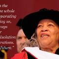 Toni Morrison on isolation