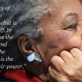 Toni Morrison on writers