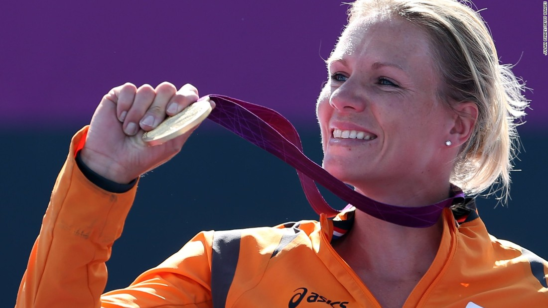"The Paralympic gold medal at London 2012 was a landmark achievement for Vergeer. ""It was such a relief to win,"" she recalls. ""It was a lot of pressure on my shoulders and so I decided to take a break after the Paralympic Games."""