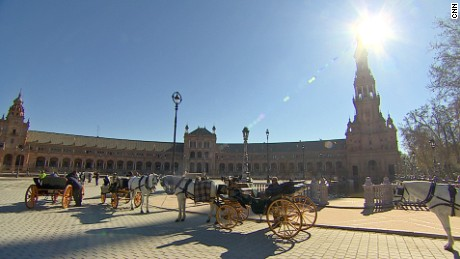 """What do """"Lawrence of Arabia"""" and """"Star Wars"""" have in common? They both filmed here at Plaza de Espana."""