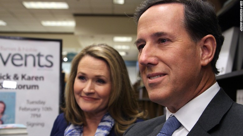 Rick Santorum supports vaccinations