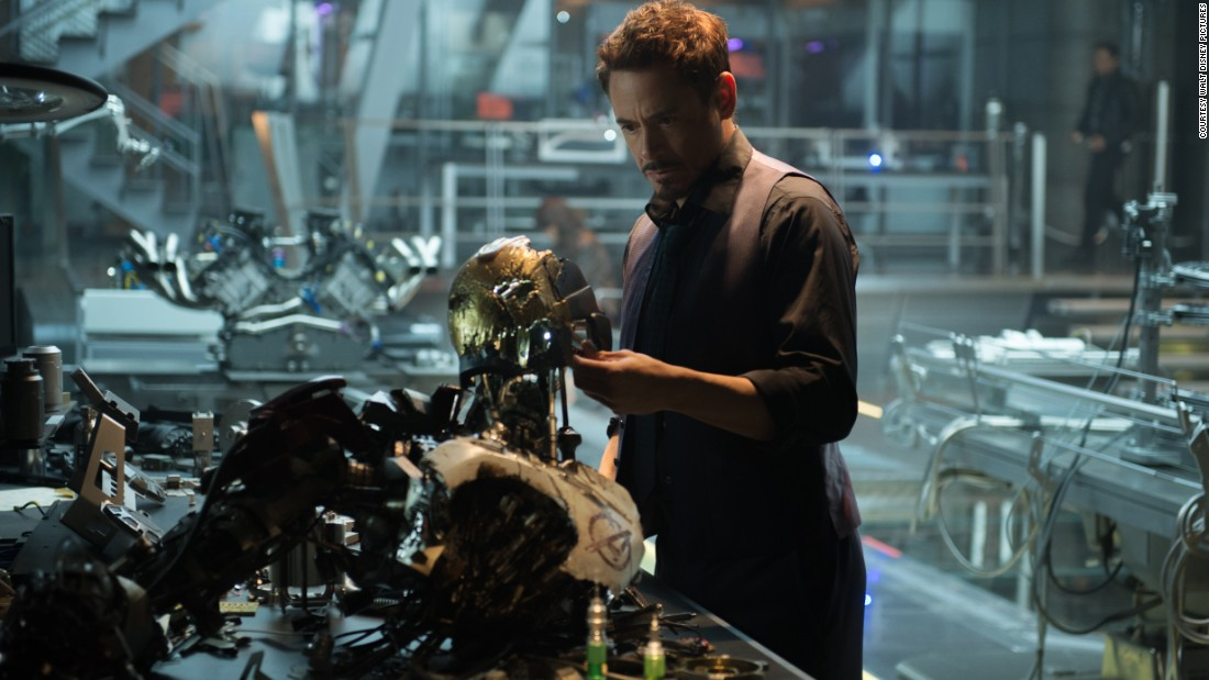 """Avengers: Age of Ultron"" brings back Robert Downey Jr. and the rest of the Marvel crime-fighting gang, as well as writer-director Joss Whedon. The villain: Ultron, voiced by James Spader. The film opened May 1."