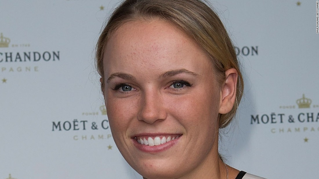 Caroline Wozniacki has appeared in Sports Illustrated's famous swimsuit edition this year.