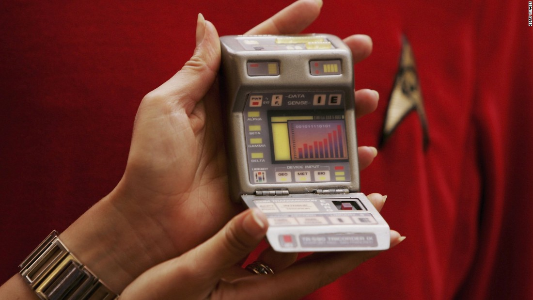 "For the 1990s series ""Star Trek - The Next Generation"", the Tricorder got smaller and more portable."