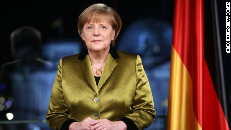 Angela Merkel: Germany's beloved 'Mom'.