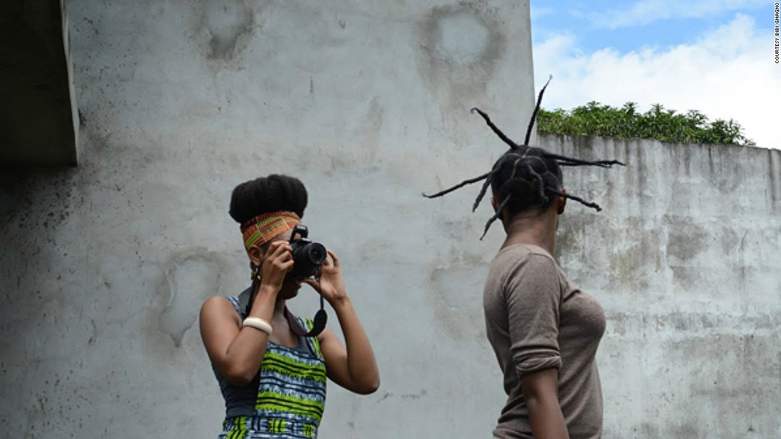 "American transplant Bibi Gnagno moved to the Ivory Coast and became fascinated with Coastians attitudes towards hair. She is working on a documentary on the subject called ""Is that (all) your hair?"""