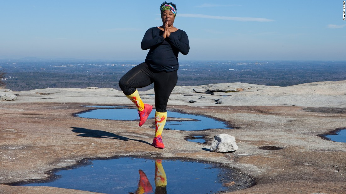 Aiming for a healthy mindset was a popular goal, with some aiming to battle obesity and keep exercising -- no matter what.