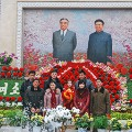 kim jong il birthday flower show