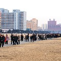 kim jong il birthday orderly walking