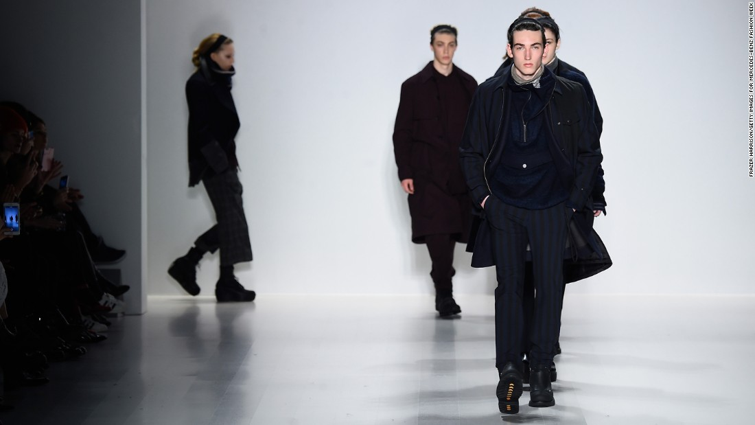 Richard Chai's show was dominated by outerwear.