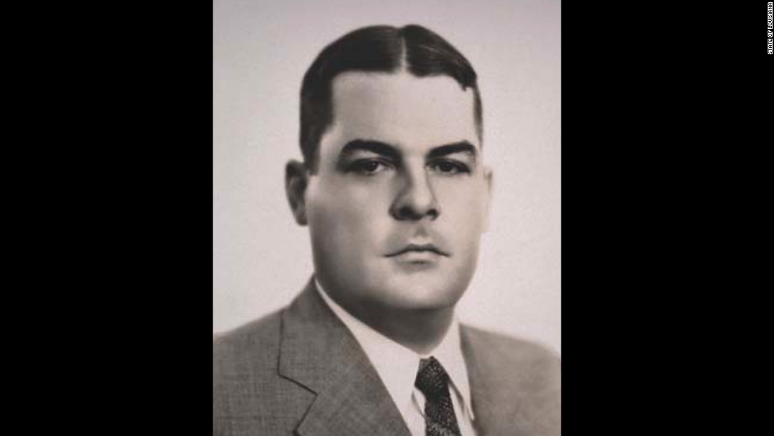"Louisiana Gov. Richard Leche <a href=""http://www.nga.org/cms/home/governors/past-governors-bios/page_louisiana/col2-content/main-content-list/title_leche_richard.html"" target=""_blank"">resigned</a> from office in 1939, when his involvement in a scheme to sell trucks to the highway department was unveiled. Leche, a Democrat, <a href=""http://www.sos.la.gov/HistoricalResources/AboutLouisiana/LouisianaGovernors1877-Present/Pages/RichardWLeche.aspx"" target=""_blank"">served</a> five years in federal prison and was later pardoned by President Harry Truman."