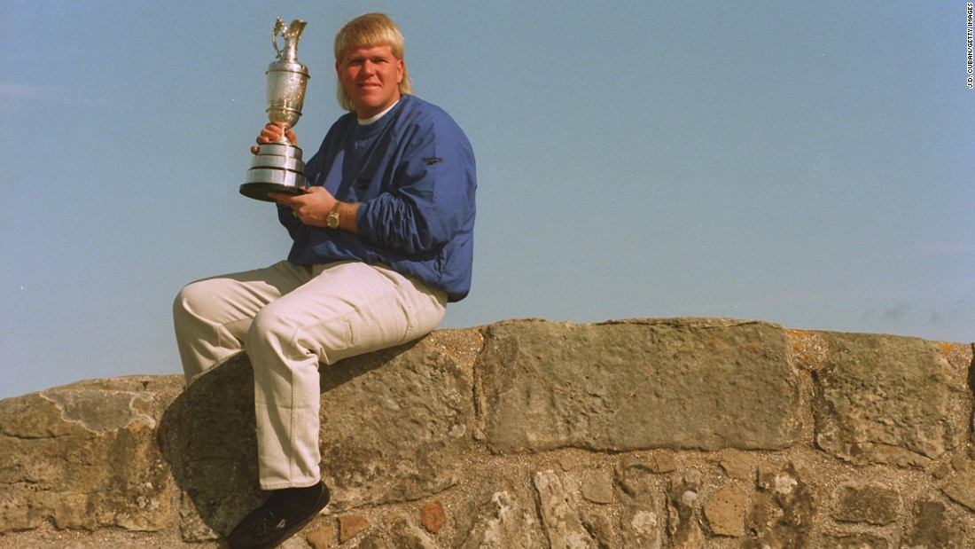 Daly's second major title came in 1995 when he won the British Open at St Andrew's in Scotland. He beat Constantino Rocca into second place after the Italian had holed a miraculous 60-foot putt on the final hole to force a playoff.