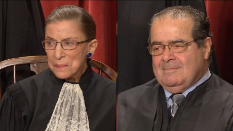 Ginsburg and Scalia's wild adventures