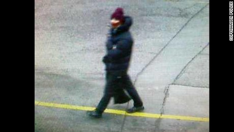 Copenhagen police issued this  photo of an individual in connection with Saturday's terror attack.