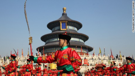 The Temple of Heaven and its surrounding park are popular tourist destinations. Locals also frequent the park, where there are plenty of social and leisure opportunities.