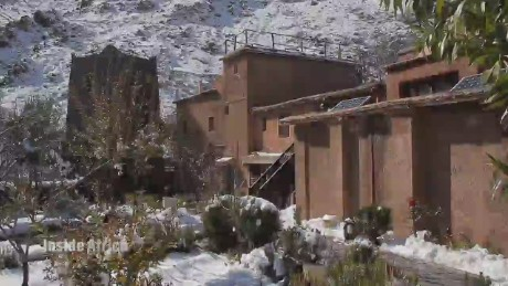 Ancient culture thrives around snowy mountain