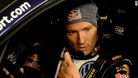 Seb Ogier: France's double world rally champion