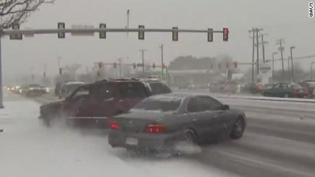 cnnee us va winter storm truck looses control_00000715