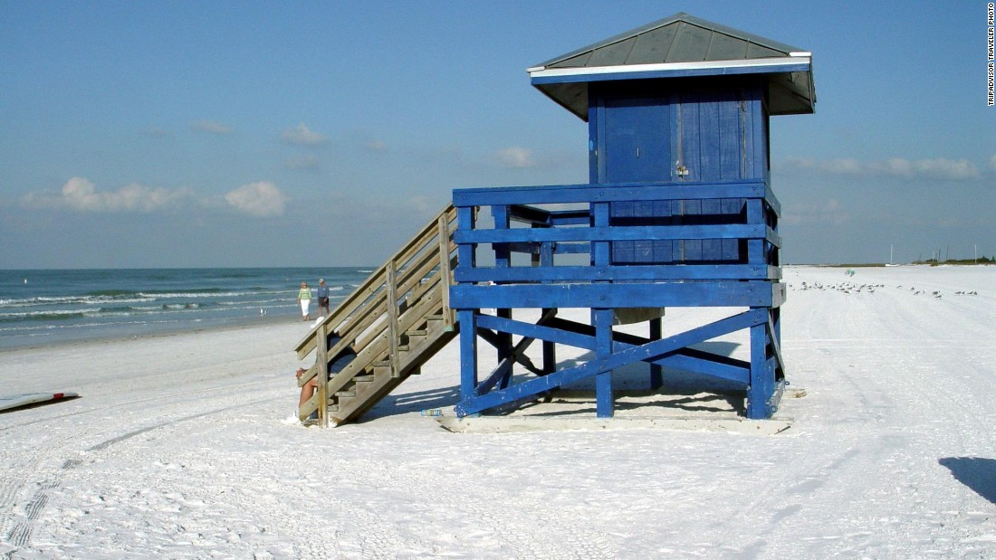 Siesta Beach in Siesta Key, Florida, jumped from No. 3 in 2014 to become the No. 1 beach on the 2015 TripAdvisor Travelers' Choice list of U.S. beaches. For an escape in the next two months, TripAdvisor recommends Captiva Beach Resort, with rates as low as $172 per night.
