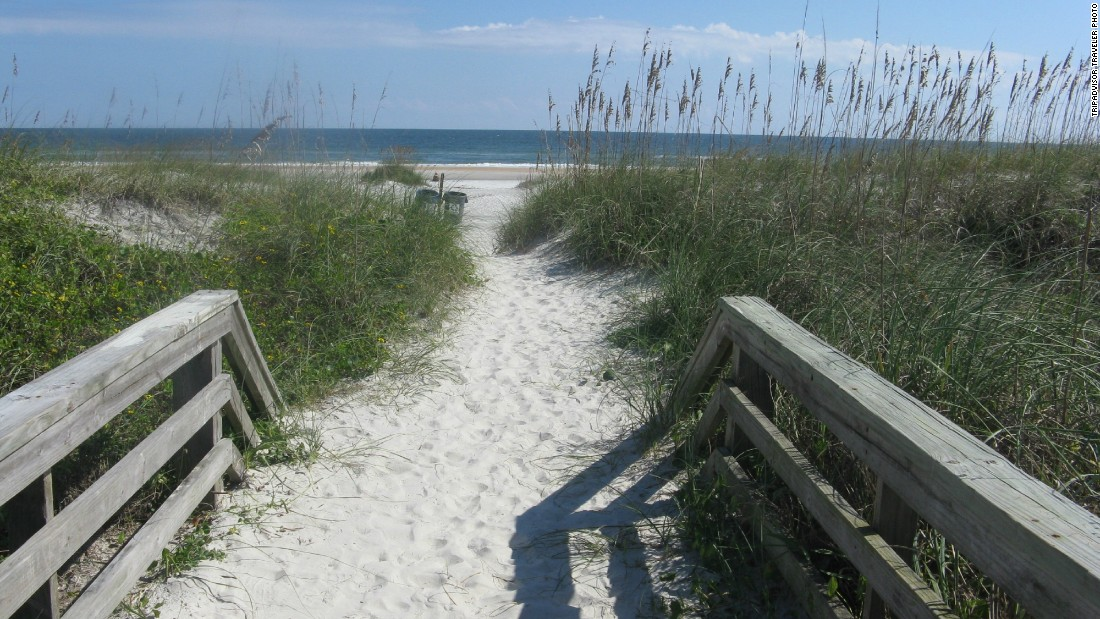 St. Augustine Beach is a great spot for family getaways on Florida's Atlantic Coast.