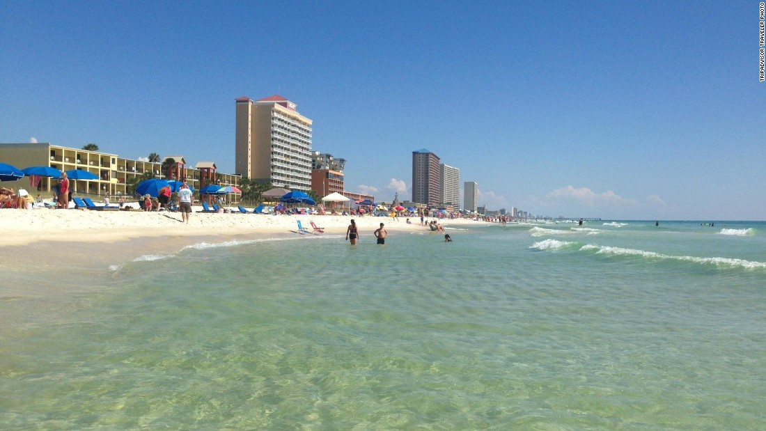 More than 20 miles of shoreline welcome visitors to Panama City Beach, the No. 10 U.S. beach on TripAdvisor's Travelers' Choice list.