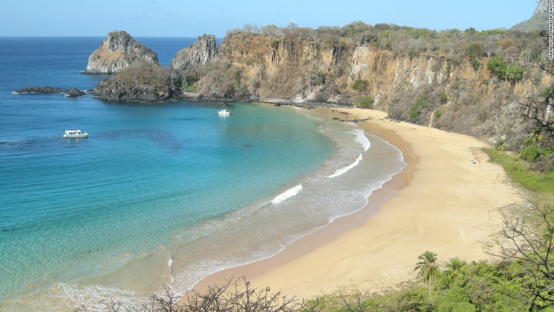 For the second year in a row, Baia do Sancho occupies the No. 1 spot on the TripAdvisor Travelers' Choice list of the world's best beaches. Located on the Brazilian island of Fernando de Noronha, the beach requires a little work to access, but visitors are rarely disappointed.