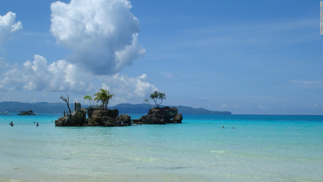 White Beach in Boracay, Philippines, is this year's No. 7 beach. Visit from December to May for the best conditions.